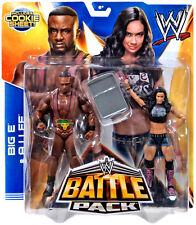 WWE AJ LEE AND BIG E LANGSTON FIGURES BATTLE PACK SERIES 28 DIVA COOKIE SHEET