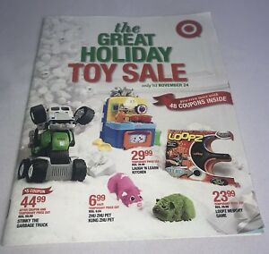 Target The Great Holiday Toy Sale Christmas Holiday Catalog Book 2010