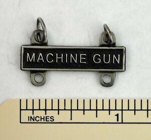 MACHINE GUN MARKSMANSHIP BADGE TAB / BAR - ARMY QUALIFICATION ATTACHMENT