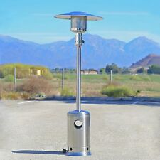 Patio Heater Commercial Outdoor LP Propane Deck Tall Gas BTU Stainless Steel