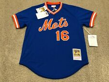 NWT NEW Mitchell & Ness Dwight Gooden New York Mets 1986 Authentic Mesh Jersey