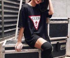 GUESS Asap Rocky Limited Edition Oversized Logo Women`s T-shirt