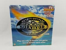 Survivor Board Game TV Show Outwit Outlast Outplay 2000 Mattel New