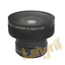0.25X 46mm Fisheye Wide Angle Lens With 12.5 Macro Rollei Leica Olympus Pentax