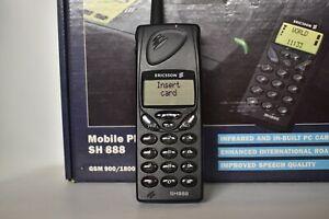 Vintage Ericsson SH888 Unlocked Dual Band GSM Phone 1998