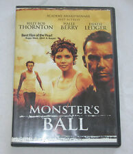 Monsters Ball DVD, 2002, Drama, Billy Bob Thornton, Halle Berry, Free Ship U.S.A
