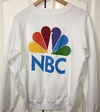 Vintage NBC Television Peacock Sweatshirt RARE Contest Giveaway Sears Large COA