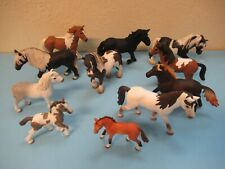 Schleich horses lot of 11 good condition