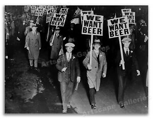 """1931 """"We Want Beer"""" - Prohibition Protest Photo - 24x32"""