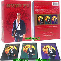 Kung Fu: The Complete Series Collection (DVD, 16 Disc) Seasons 1, 2,3 US Seller