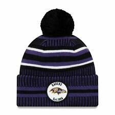 Baltimore Ravens Beanie NFL Football New Era Sideline One Size Wintermütze
