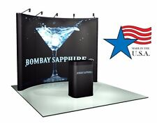 10ft Trade Show Pop-Up Display Booth, Brand NEW Pop-Up hardware only