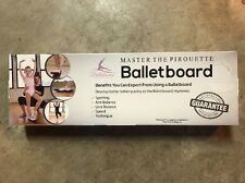 Balletboard, Turning Board for Dancers - Carrying bag included, New, Pink