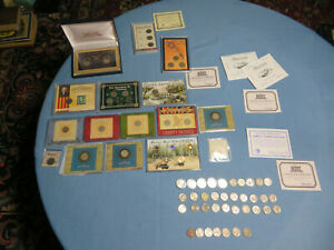 American Bison Nickel Collection Colorized,Holo,24k Gold Plated, 60+ COINS #62