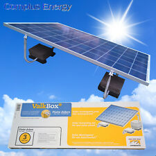 ValkBox3 Solar Mounting System Ground Mount or Flat Roof Mounting 15Min Install