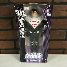 """Superman Justice Lord Justice League Unlimited 10"""" Figure DC Mattel New Sealed"""