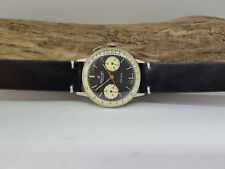 RARE VINTAGE BREITLING TOPTIME CHRONOGRAPH BLACK DIAL MANUAL WIND MAN'S WATCH