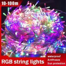 LED Plug Lights Christmas Fairy String Lights Christmas Party 10M20M30M50M100M