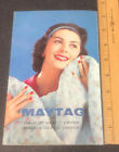 Vantage Maytag Ower's Manual With Lithograph Cover Models DE300-DH300 Dryer photo