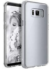 Premium Transparent Back Panel Bumper Hard TPU Case For Samsung Galaxy S8 Plus
