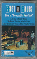 BEST of THE BLUES Live At NEWPORT IN NEW YORK Cassette TAPE BB King MUDDY WATERS