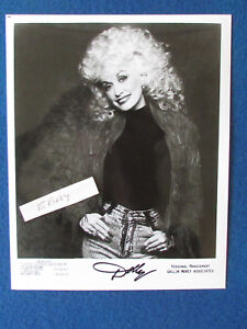 "Original Press Promo Photo - 10""x8"" - Dolly Parton - 1980's - Portrait"