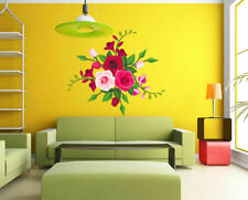ced58 Full Color Wall decal Sticker flower nature tenderness bedroom living