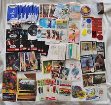 Collection d'images publicitaires, autocollants, cartes de série, collections