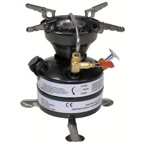 MFH Stove Cooker A Petrol Outdoor Camping Hiking Hunting Fishing