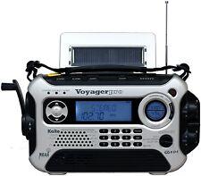 Kaito Voyager Pro Digital Hand Crank Am Fm Survival Weather Radio Alert Solar