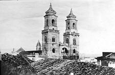 Photo. 1899. Altamura, Italy.  Church Towers