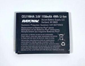 Rayovac CEL11064A 1150mAh 3.6V Rechargeable Battery