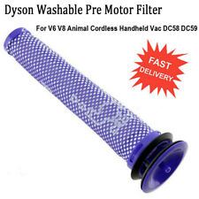 Washable Motor Filter Animal Cordless Handheld For Dyson V6 V8 Vac DC58 DC59 Hot