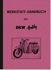 DKW Hobby Motorroller Reparaturanleitung Werkstatt-Handbuch Repair Manual