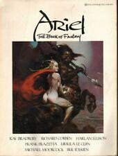 1977 Vintage Ariel The Book of Fantasy - Ray Bradbury, JRR Tolkien & more