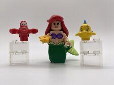 New ListingLego Disney Princess Ariel Little Mermaid Flounder Sebastian