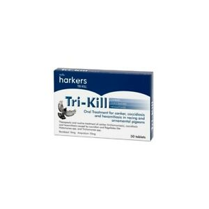Harkers Tri-Kill Treatment For Canker, Coccidiosis And Hexamitiasis In Pidgeons