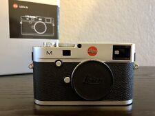 New ListingLeica M Typ 240 Digital Camera Silver with Accessories M240 Type 240 LeicaM