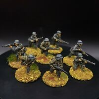 Painted 28mm Bolt Action Ww2 German Grenadiers ×8 Squad #4