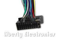 Wire Harness for Kenwood KDC-X395 KDC-BT368U KDC-BT365U KDC-BT852HD KDC-155U #S