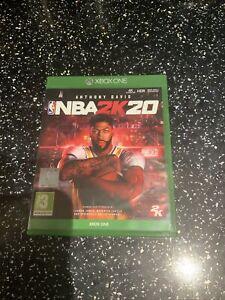 XBOX ONE GAME NBA 2K20