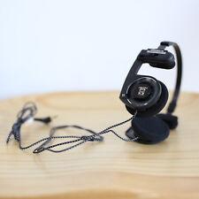 KOSS PORTA PRO ON EAR HEADPHONES (BLACK) WITH NYLON WIRE L PLUG