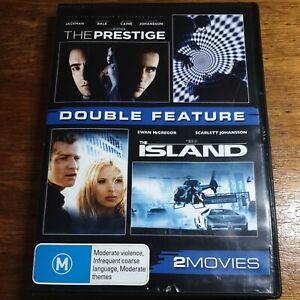 The Prestige + The Island DVD R4 LIKE NEW FREE POST