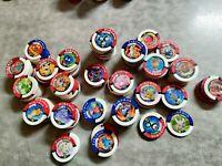 Pokemon Battrio Coin Chips Gen1 Pokemon Only