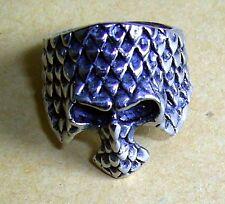 Gentlemen Monte Cristo Stainless Steel Gothic Ring Size 8, No Stone
