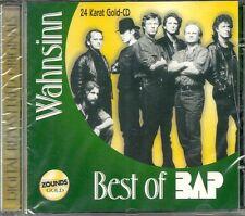 """Bap """"Wahnsinn"""" (the Best of) Zounds Gold CD Neu OVP Sealed RAR"""