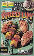 FIRED UP! SUMMER GRILLING & SEASONAL SIDES LAND O LAKES COOKBOOK JUNE 2000 #62