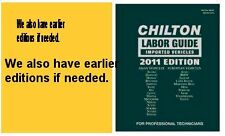 $25 Coupon CHILTON IMPORT LABOR  2010 Ed 1981-2010