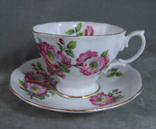 Royal Albert China Teacup & Saucer Old World Roses EXC