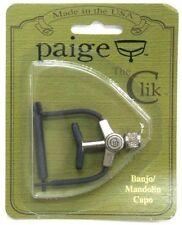 USA Made Paige PCB4 The Clik Banjo or Mandolin capo PC- B4-1.437 No Radius